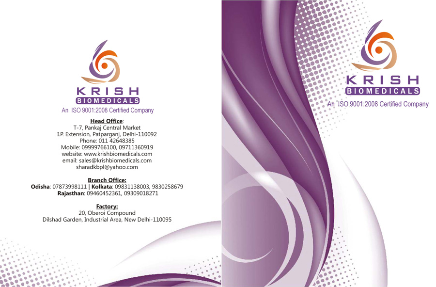 Brochure Krish Biomedicals