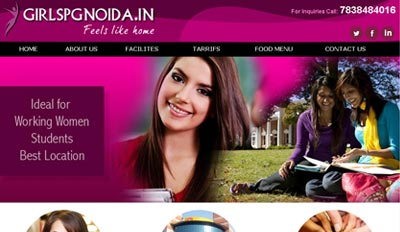 Website For Shubhlabbh Girls PG in Noida