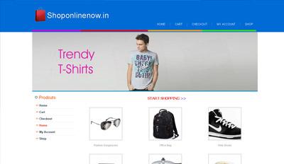 An Online Shopping Portal