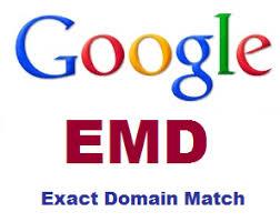 Exact Match Domain and SEO